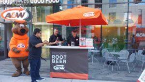 burger, food, A&W, root beer, food,